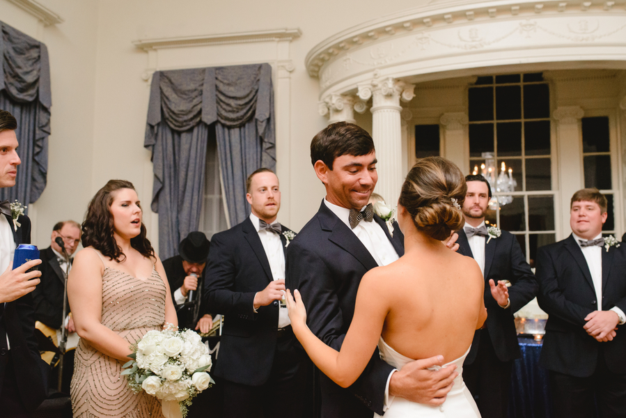 Samantha and Hugh's South Carolina Society Hall wedding