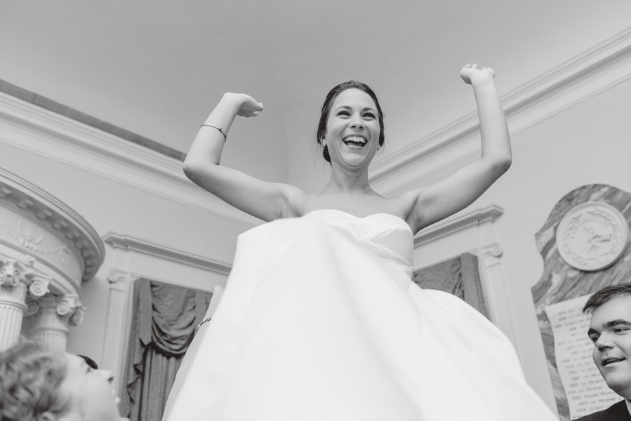 Samantha Heester Morrison's Lowcountry wedding at The South Carolina Society Hall