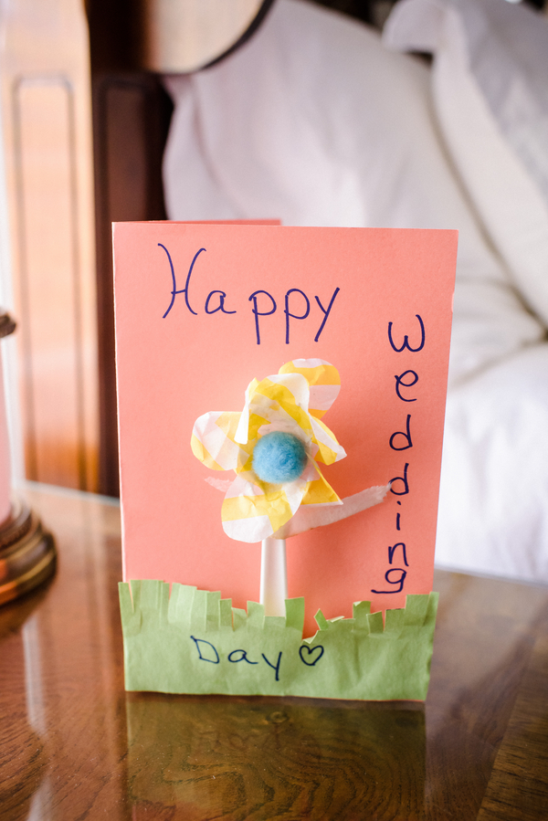 Happy wedidng day card in Savannah, GA by Donna Von Bruening Photography
