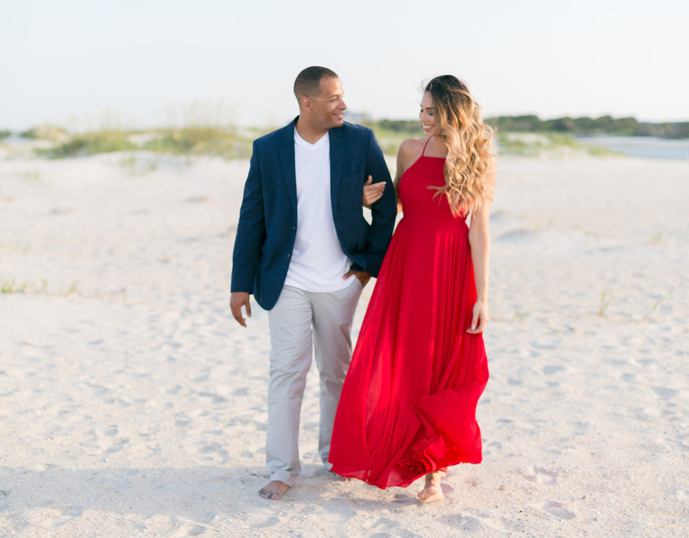 Pawleys Island wedding engagement by Myrtle Beach vendor Kristy Roderick Photography