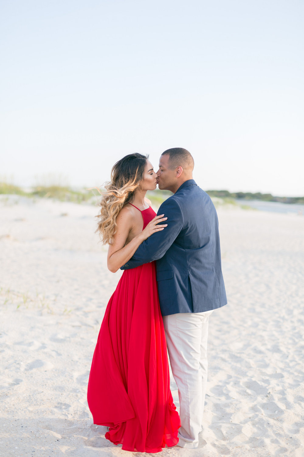 Chris + Felisha's Evening engagement in Myrtle Beach, South Carolina