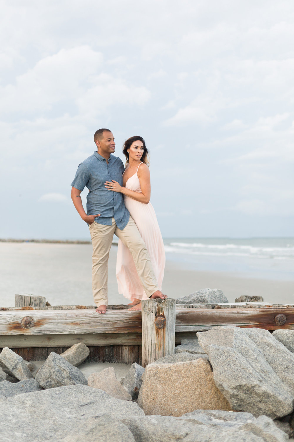 Lowcountry Engagement Session in Myrtle Beach, SC