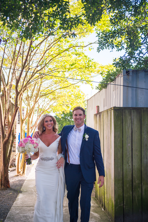 Charlie + Jan's Charleston wedding at The Historic Rice Mill Building
