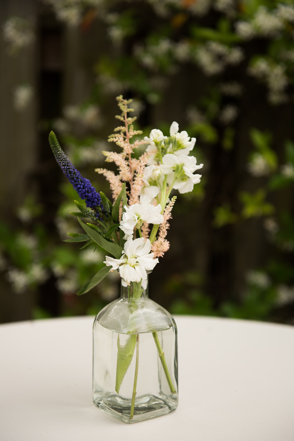centerpieces by Palmetto Petals at Coleman Hall wedding in Charleston, SC