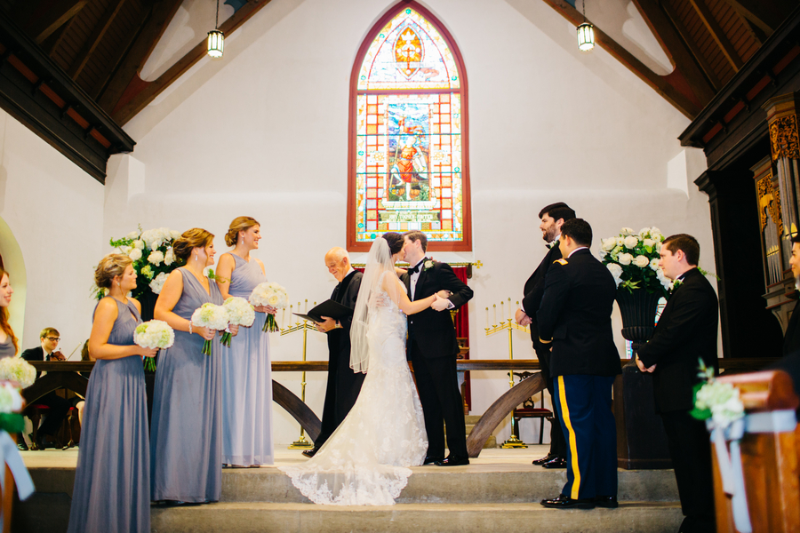 St. Luke's Chapel wedding at Medical University of South Carolina