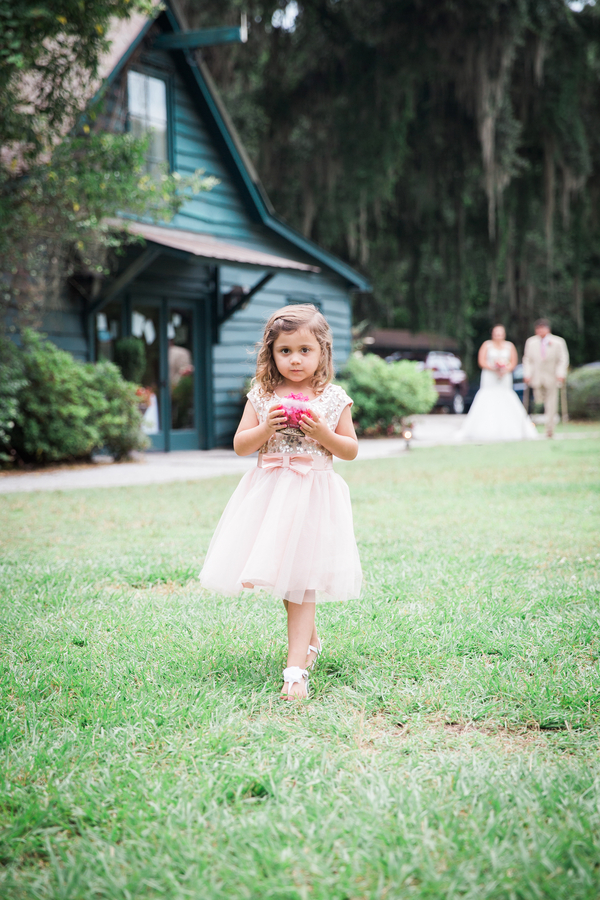 Charleston Flower girl