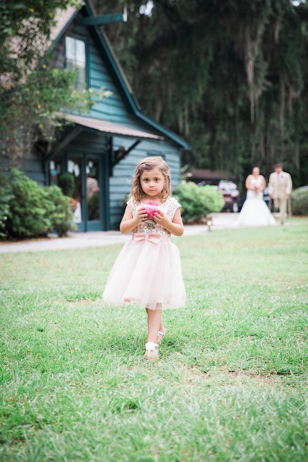 Charleston Flower girl