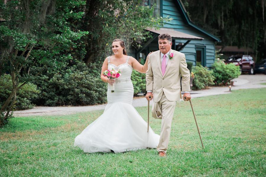 Magnolia Plantation and Gardens wedding ceremony