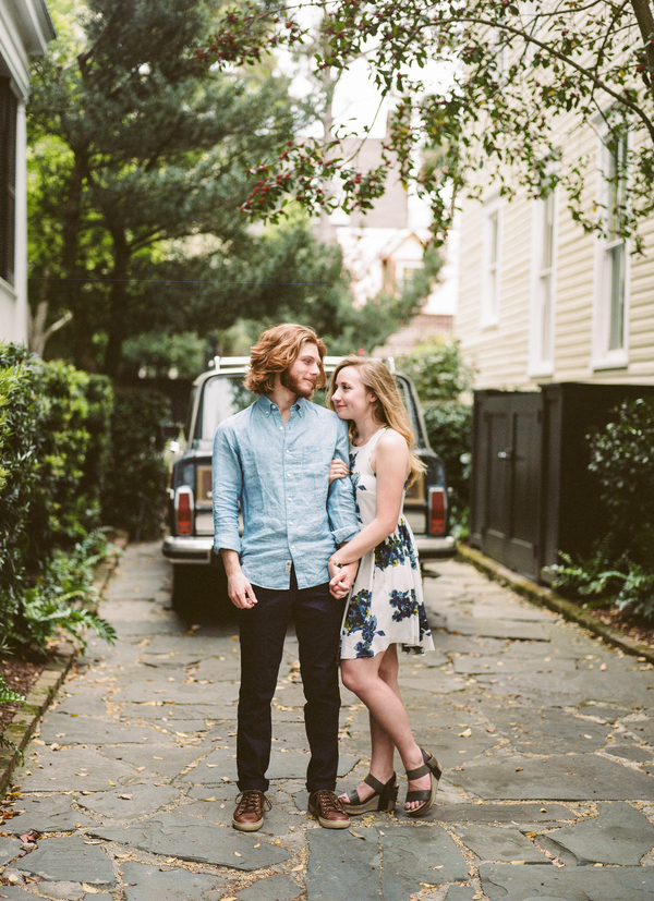 Taylor + Zakari's Charleston Wedding Engagement