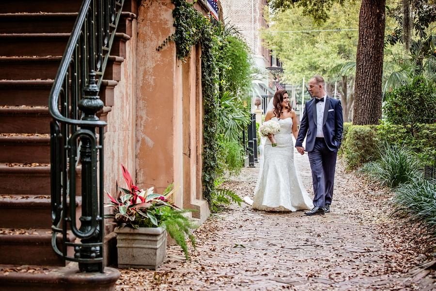 Tiffany + Joshua's Savannah Wedding