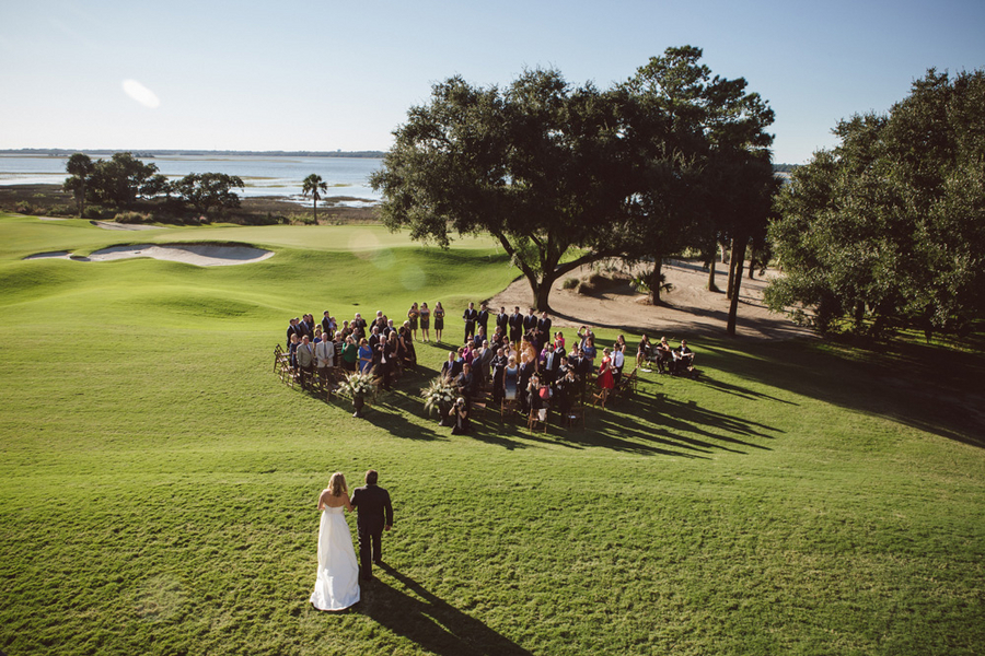 River Course wedding on Kiawah Island, SC by A Charleston Bride and amelia + dan photography
