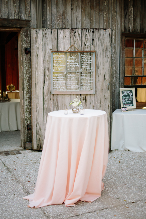 October wedding at Boone Hall Plantation's Cotton Dock