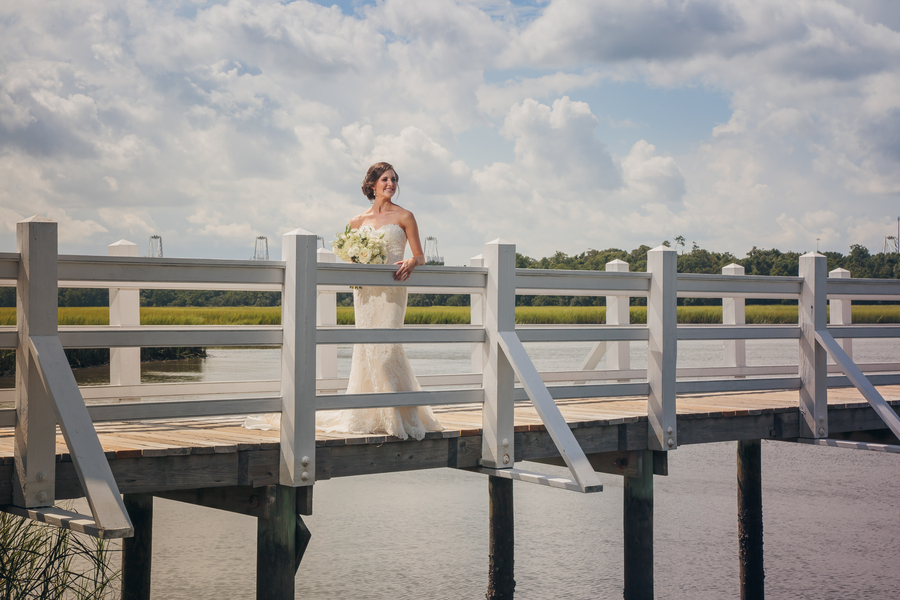 August wedding in Charleston, SC