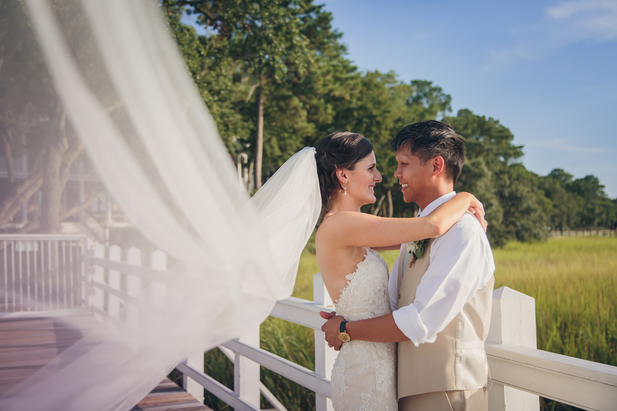 Brittany + Ricky's Charleston wedding
