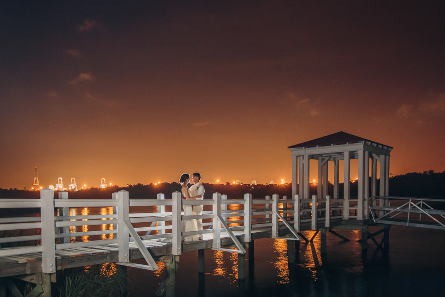 Charleston wedding portraits at Creek Club at I'On