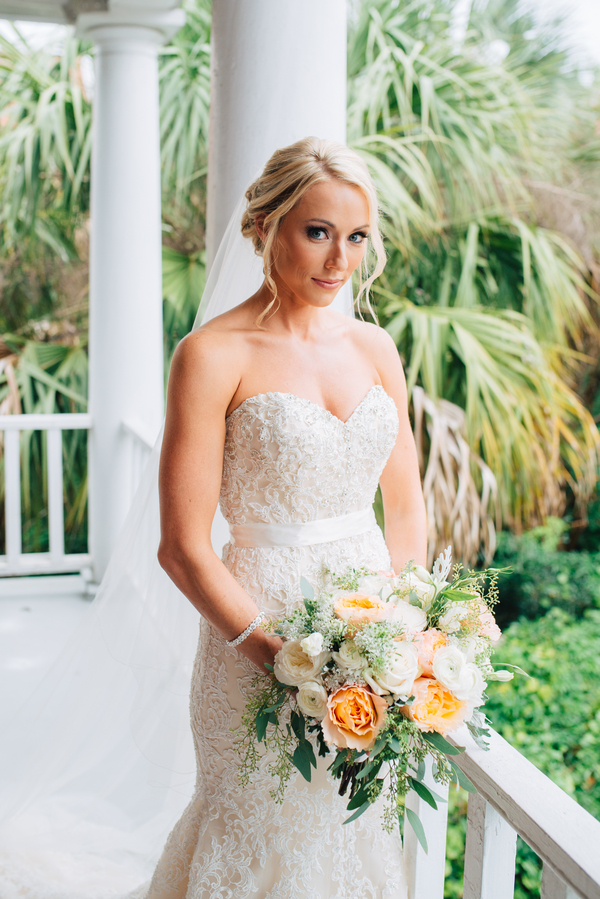 Charleston wedding at The Mills House Hotel by South Carolina vendors Riverland Studios