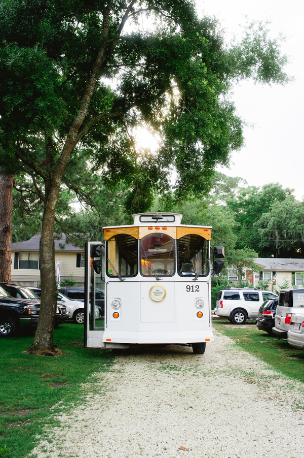 Savannah Wedding Trolley Vendor - Old Savannah Tours