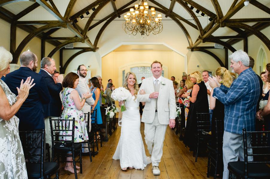 Tory + Britt's Savannah Wedding at The Tybee Chapel by Lowcountry Vendors Yoj Events