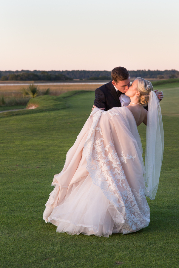 River Course Wedding on Kiawah Island by Lowcountry vendor MCG Photography