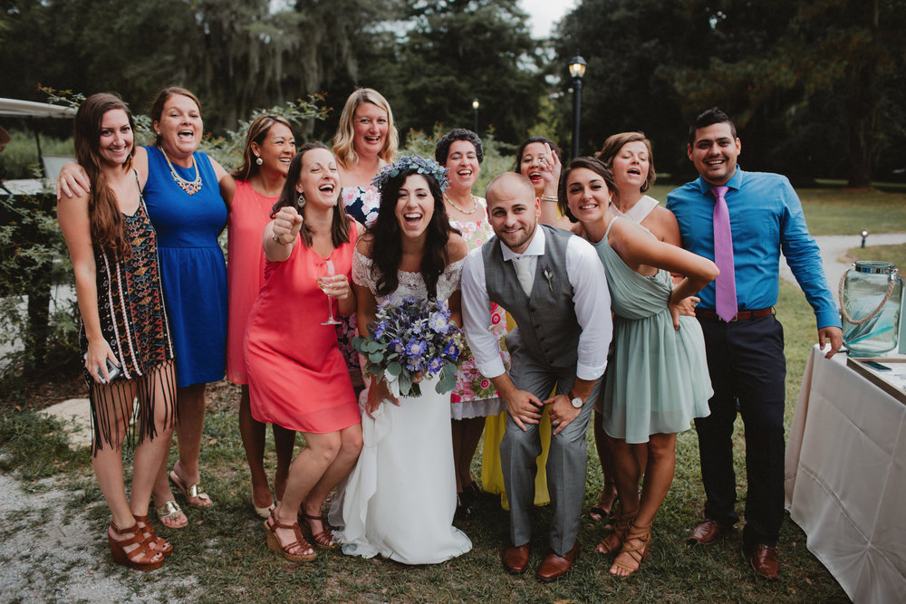 Gina + Matt's Lowcountry Wedding by Blest Studios