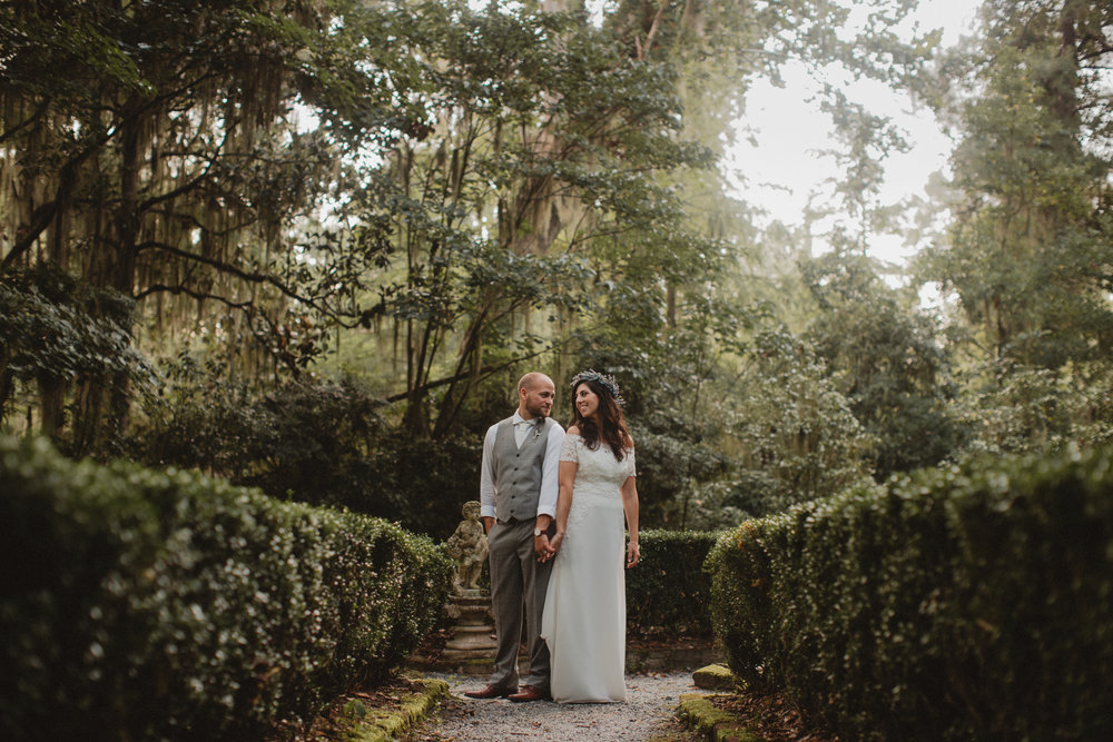 Gina + Matt's Magnolia Plantation and Gardens wedding