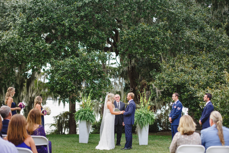Tracey + Justin's Myrtle Beach wedding at Wachesaw Plantation by Lowcountry vendors Riverland Studios