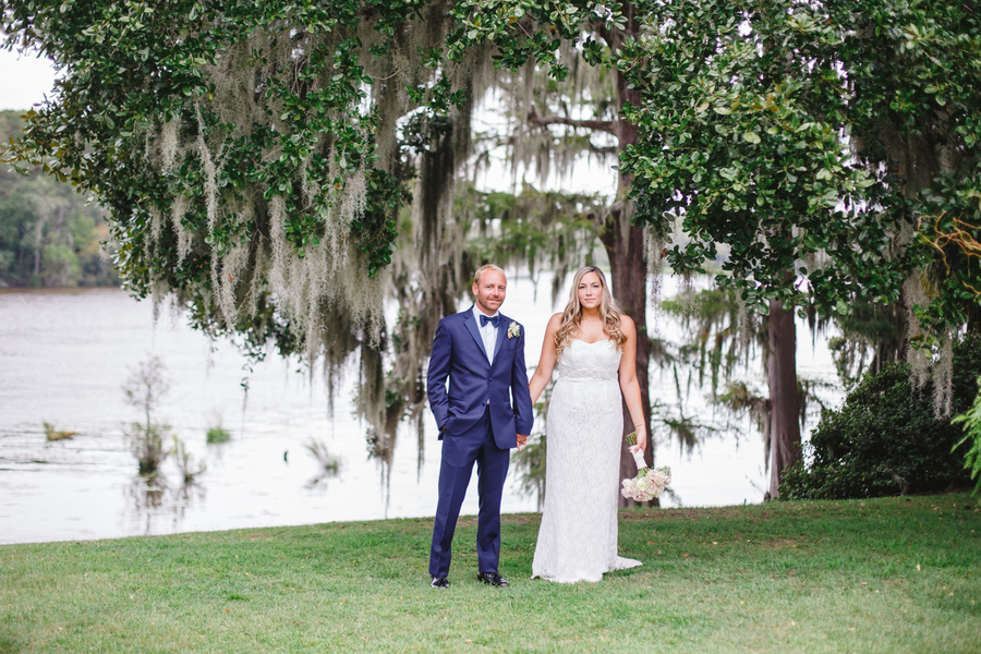 Tracey + Justin's Myrtle Beach wedding at Wachesaw Plantation by South Carolina vendors Riverland Studios