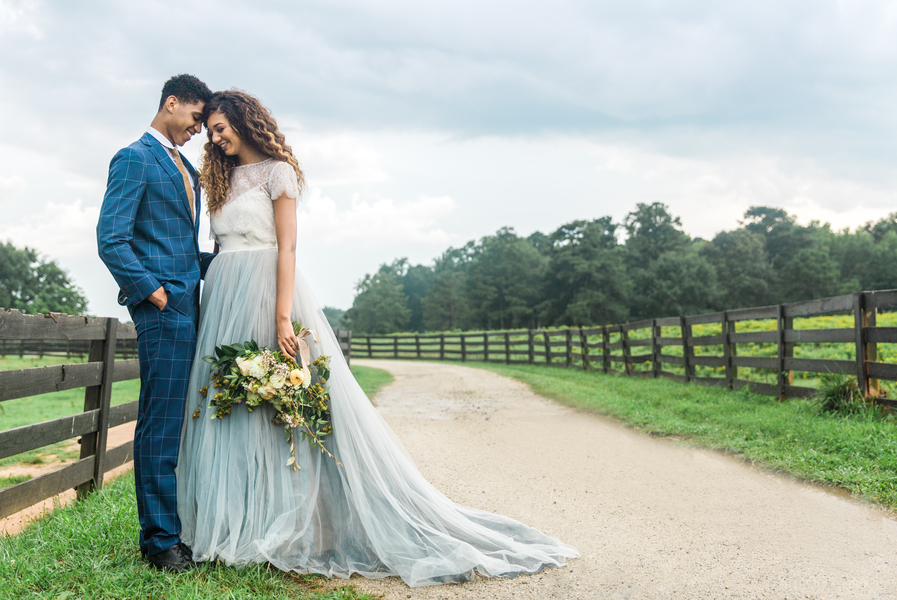 Southern Orchards Wedding Inspiration Shoot at Serenbe Farms by Debbie Neff Photography