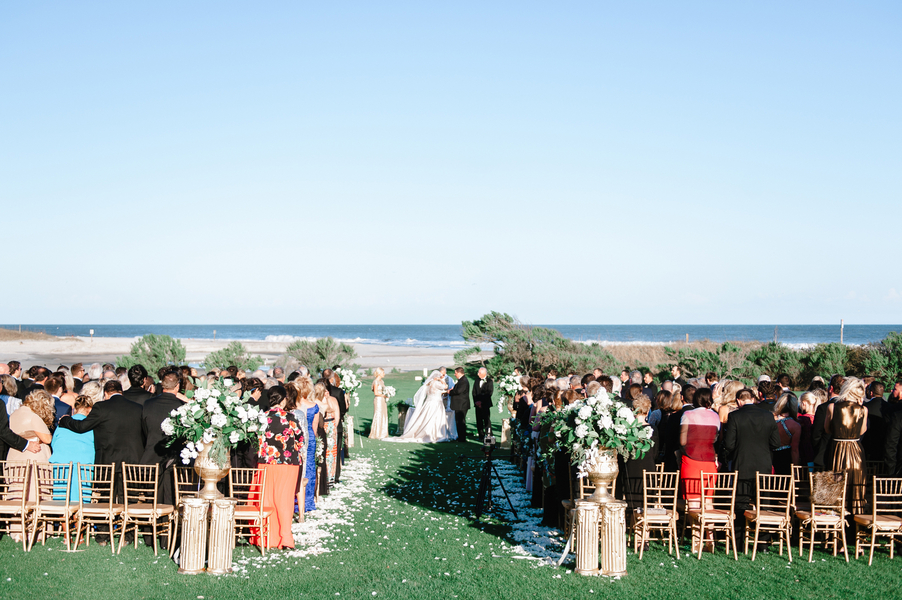Dunes Golf and Beach Club wedding in Myrtle Beach, SC by Lowcountry vendors Pasha Belman Photography, Blossoms Events