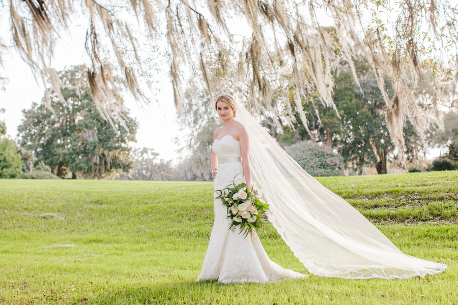 Caitlin's Charleston Wedding portraits by Lowcountry vendor Riverland Studios