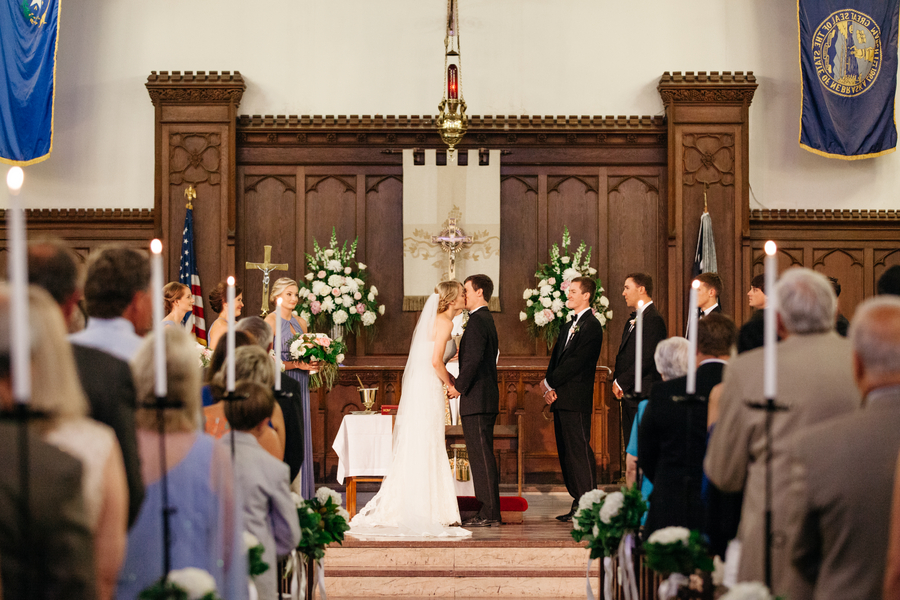 Caitlin + Al's Summerall Chapel wedding at The Citadel