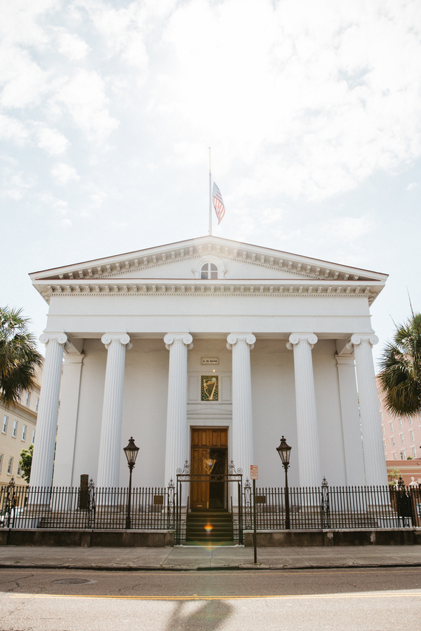 Hibernian Hall wedding in Charleston, South Carolina