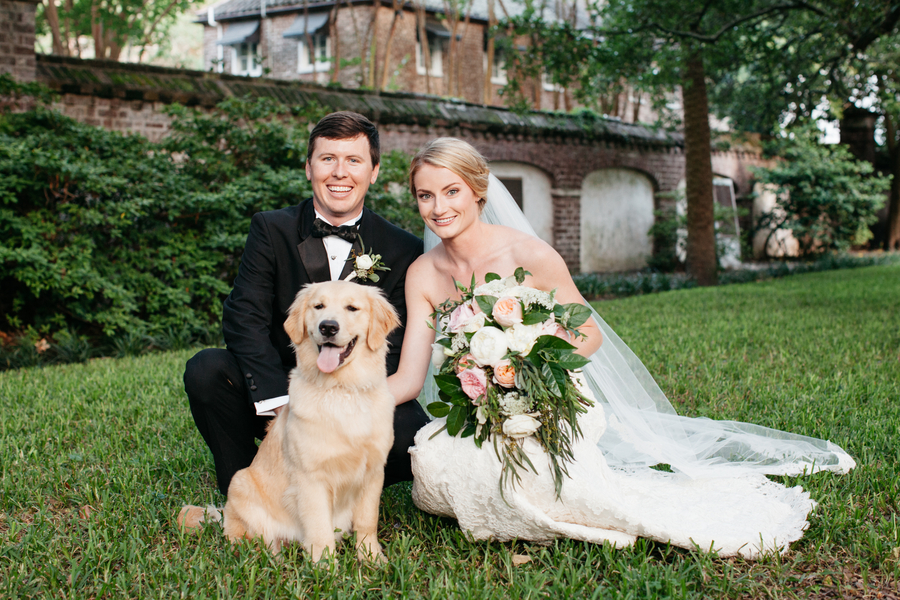 Caitlin + Al's Charleston wedding at HIbernian Hall