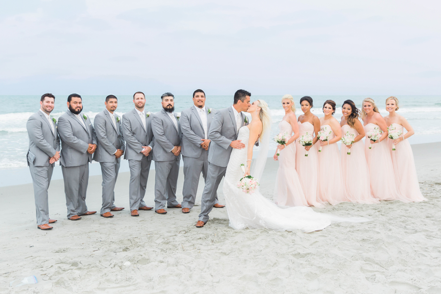 Pink 21 Main Events Wedding in Myrtle Beach, South Carolina by Hannah Ruth Photography