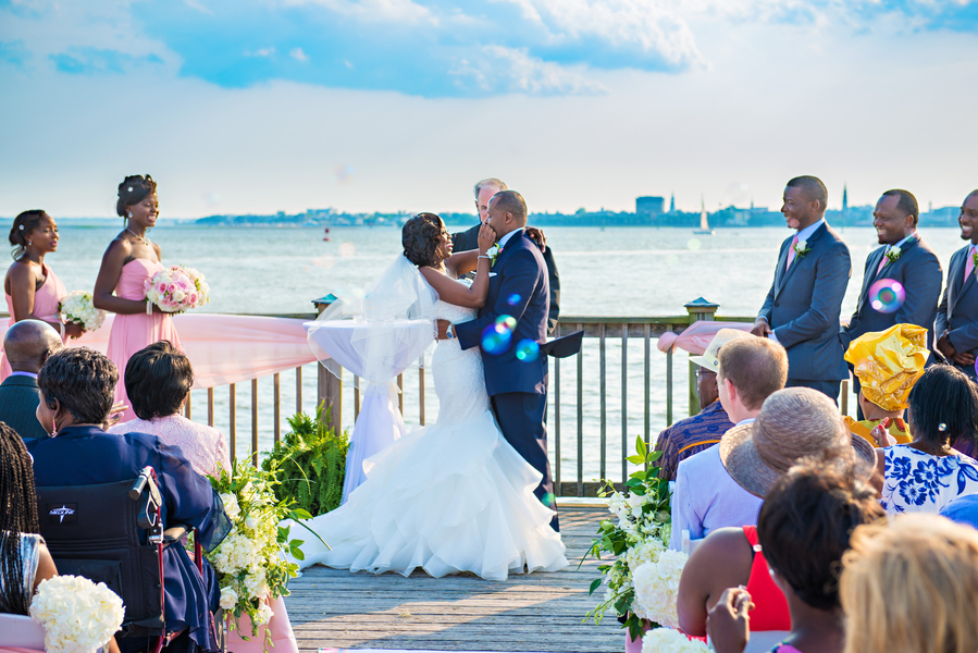 Charleston Harbor Resort & Marina wedding in South Carolina by Rick Dean Photography