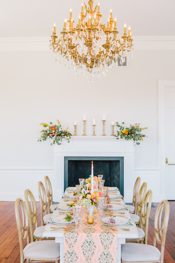 Lulie Wallace wedding inspiration shoot in Charleston, SC by Riverland Studios