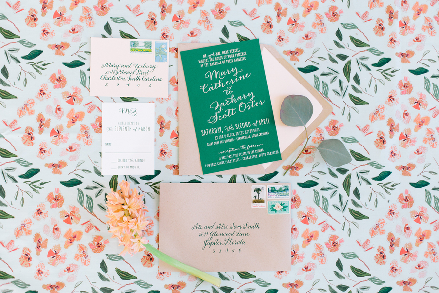 MYRTLE BEACH WEDDING VENDORS - INVITATION & STATIONERY