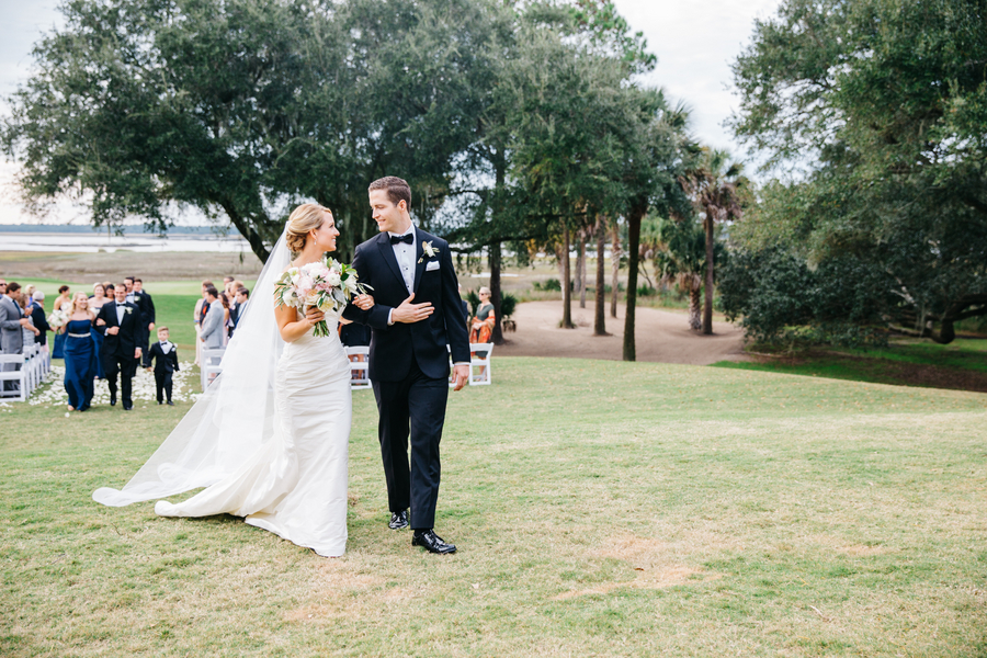 River Course wedding on Kiawah Island by Branch Design Studio by Riverland Studio