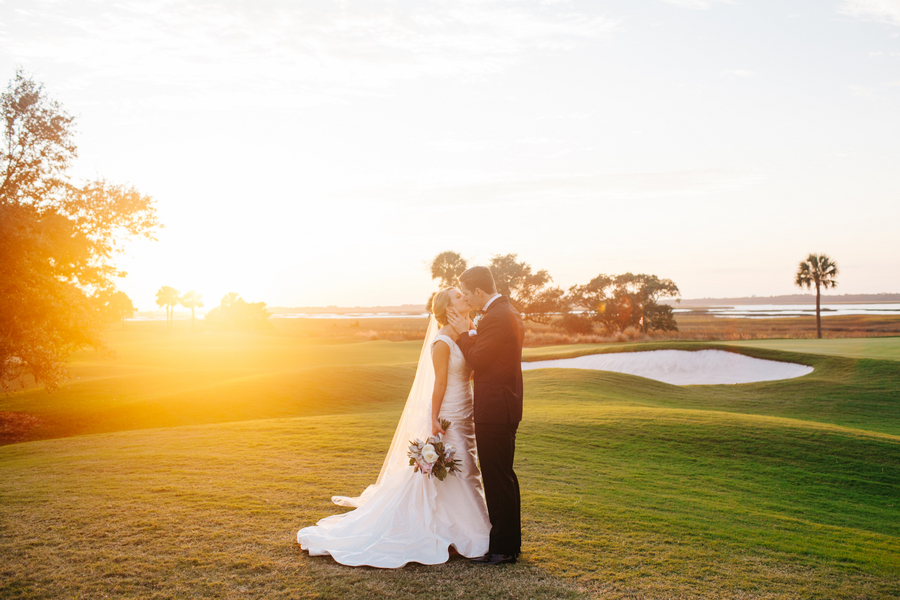 River Course Wedding on Kiawah Island, SC by Riverland Studios