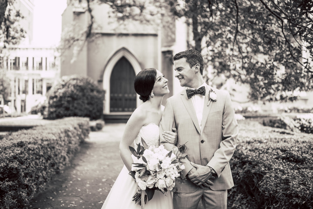 Savannah wedding at Forsyth Park in Georgia
