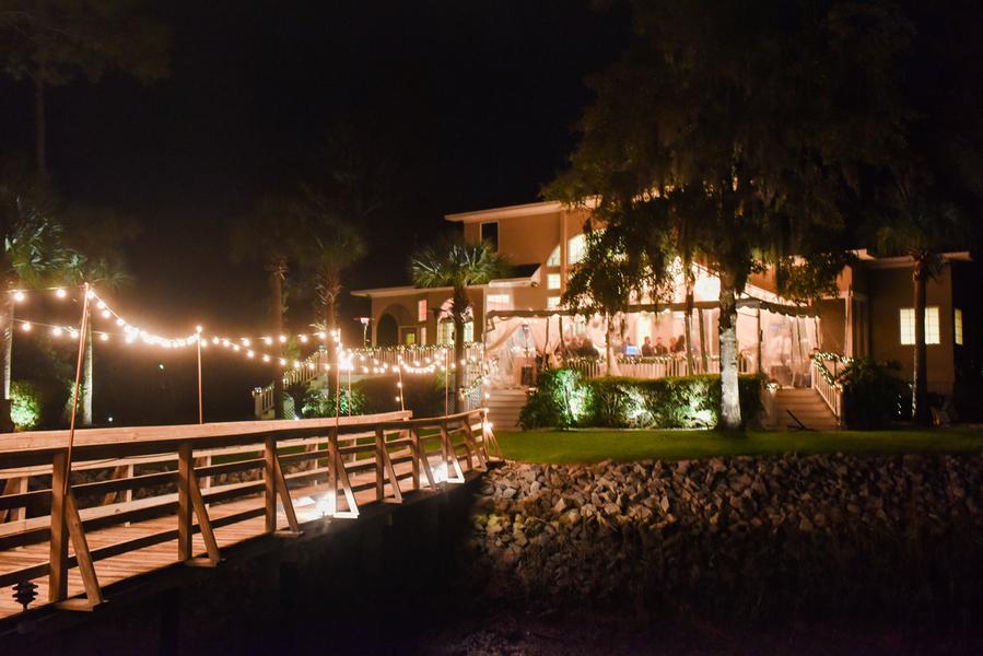 Evening wedding in Savannah, GA by Donna Von Bruening
