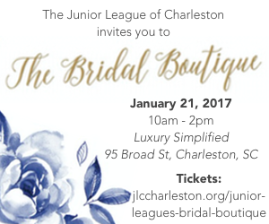 Junior League of Charleston - Bridal Boutique at Luxury Simplified