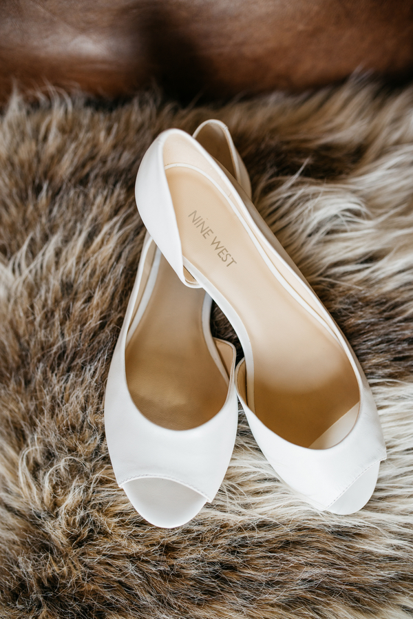 Charleston wedding shoes at The Andell Inn photographed by Riverland Studios