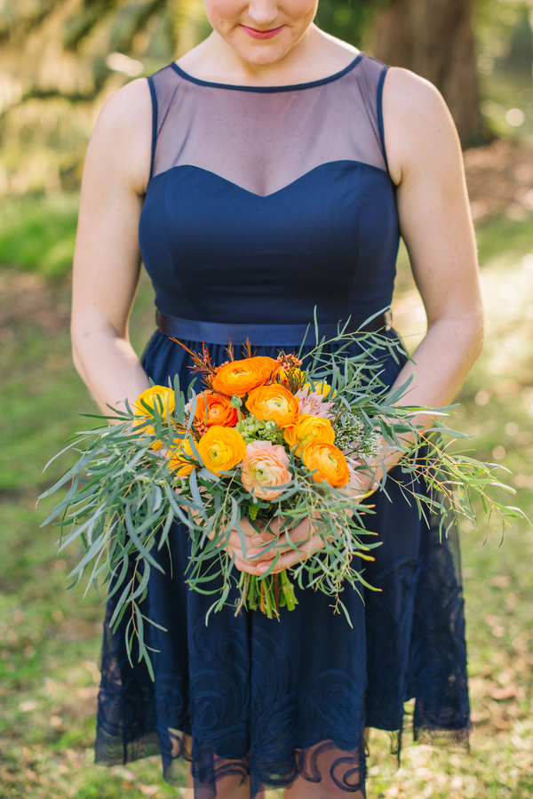 Charleston wedding boutonniere at The Barn at Walnut Hill photographed by Riverland Studios