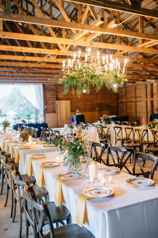Wedding at The Barn at Walnut Hill photographed by Riverland Studios