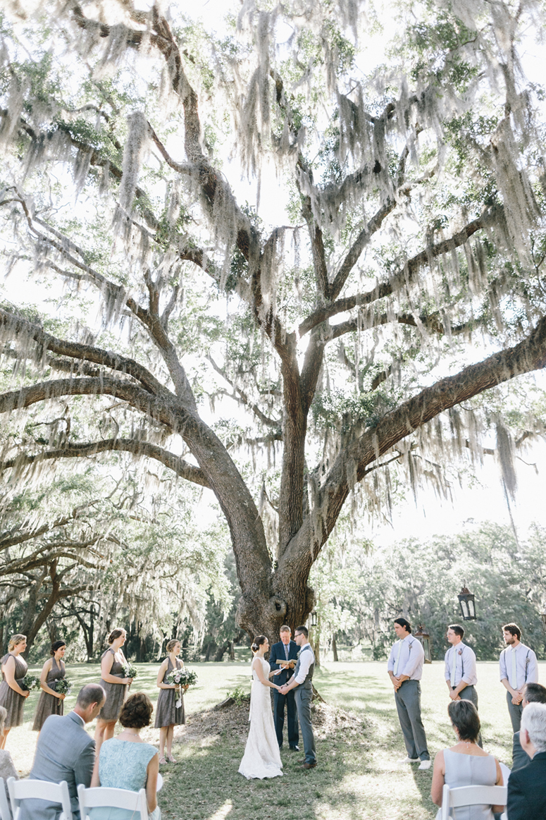Ember + Adam's Dunham Farms wedding in Georgia on A Lowcountry Wedding Magazine