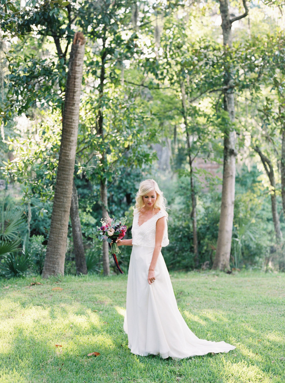 Charleston wedding dress designer - Emily Kotarski Bridal