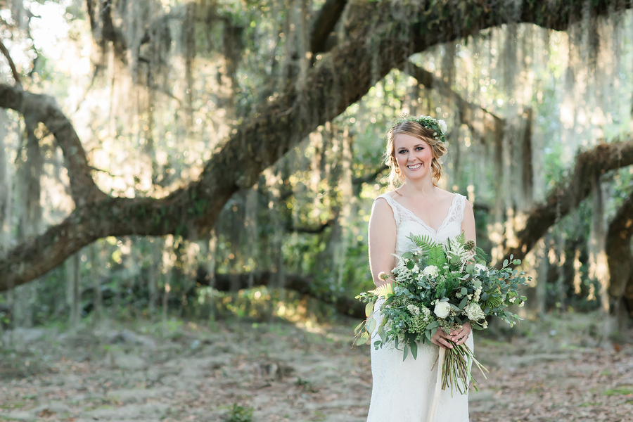 South Carolina wedding inspiration at the Borough House Plantation