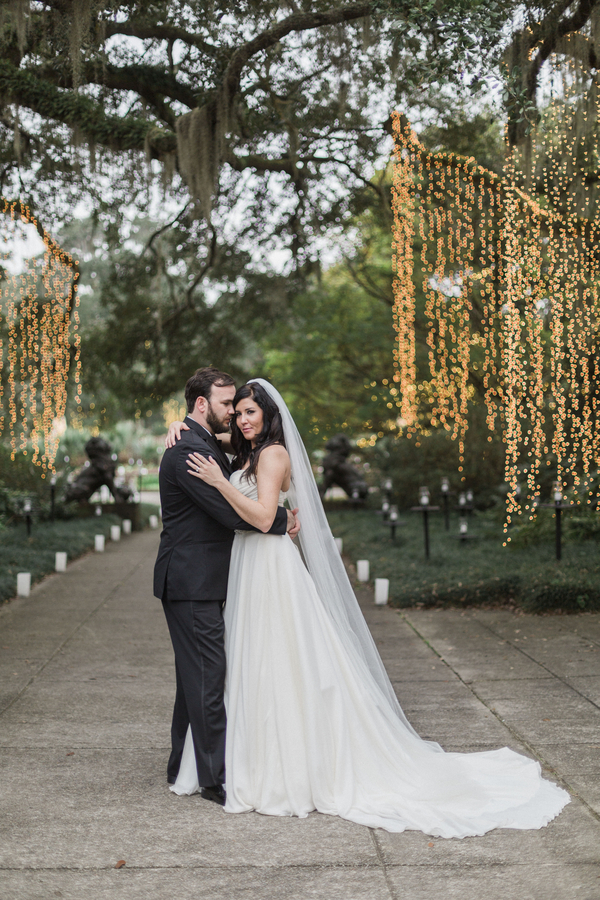 Myrtle Beach wedding at Brookgreen Gardens by Ava Moore Photography