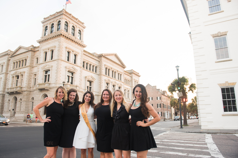 Charleston, South Carolina bachelorette party by Reese Moore Weddings